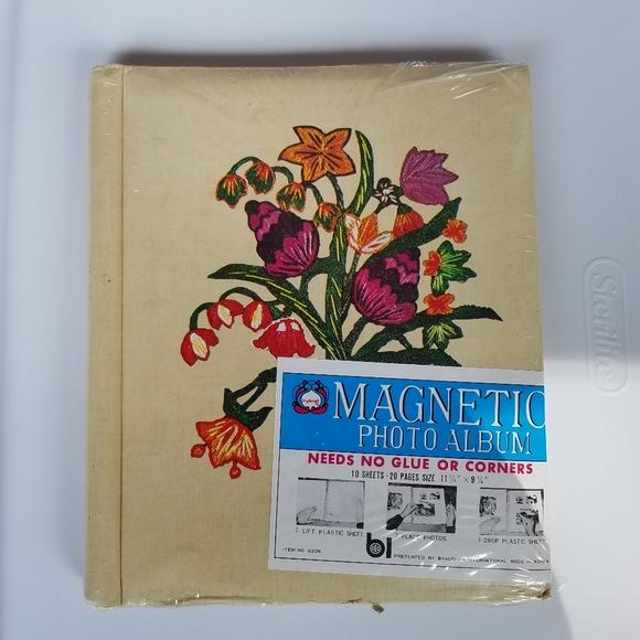 Magic Magnetic Photo Album 20 Pages 10 Sheets 11 1